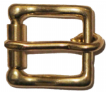 20mm Solid Brass Heavy Duty Roller Belt Buckle, for belts up to 20mm wide (BUC034)